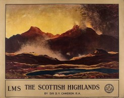 Lot 148 CAMERON, Sir David Young (1865 -1945) - THE SCOTTISH HIGHLANDS, LMS
