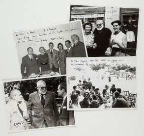 Lot 307 HEMINGWAY, ERNEST - Four black and white photographs by Francisco 'Paco