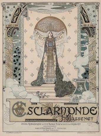 Lot 99 GORGUET, Auguste-Francois (1862-1927) - ESCLARMONDE